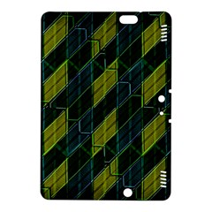 Futuristic Dark Pattern Kindle Fire Hdx 8 9  Hardshell Case by dflcprints