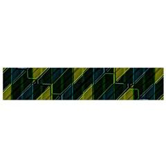 Futuristic Dark Pattern Flano Scarf (Small)  by dflcprints