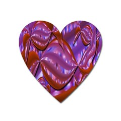Passion Candy Sensual Abstract Heart Magnet by Simbadda