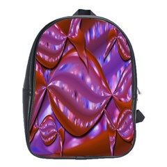 Passion Candy Sensual Abstract School Bags(large)  by Simbadda