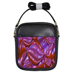 Passion Candy Sensual Abstract Girls Sling Bags by Simbadda