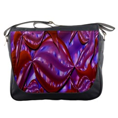 Passion Candy Sensual Abstract Messenger Bags by Simbadda