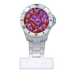 Passion Candy Sensual Abstract Plastic Nurses Watch by Simbadda
