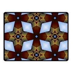 Abstract Seamless Background Pattern Fleece Blanket (small)