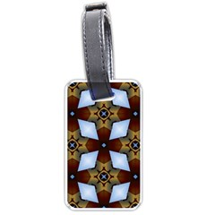 Abstract Seamless Background Pattern Luggage Tags (two Sides) by Simbadda