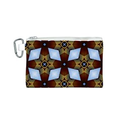 Abstract Seamless Background Pattern Canvas Cosmetic Bag (s) by Simbadda