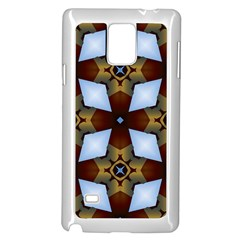 Abstract Seamless Background Pattern Samsung Galaxy Note 4 Case (white) by Simbadda