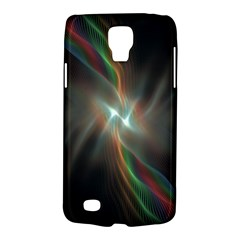 Colorful Waves With Lights Abstract Multicolor Waves With Bright Lights Background Galaxy S4 Active by Simbadda