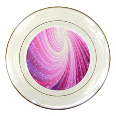 Vortexglow Abstract Background Wallpaper Porcelain Plates by Simbadda