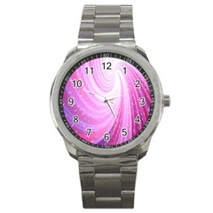 Vortexglow Abstract Background Wallpaper Sport Metal Watch by Simbadda