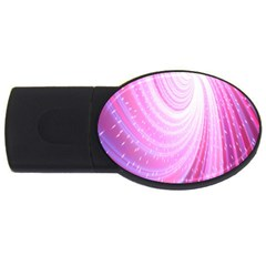 Vortexglow Abstract Background Wallpaper Usb Flash Drive Oval (4 Gb) by Simbadda