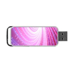 Vortexglow Abstract Background Wallpaper Portable Usb Flash (two Sides) by Simbadda