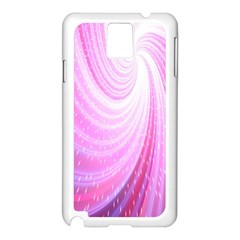 Vortexglow Abstract Background Wallpaper Samsung Galaxy Note 3 N9005 Case (white) by Simbadda