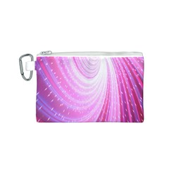 Vortexglow Abstract Background Wallpaper Canvas Cosmetic Bag (s) by Simbadda