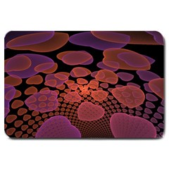 Heart Invasion Background Image With Many Hearts Large Doormat