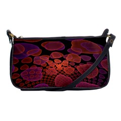 Heart Invasion Background Image With Many Hearts Shoulder Clutch Bags by Simbadda