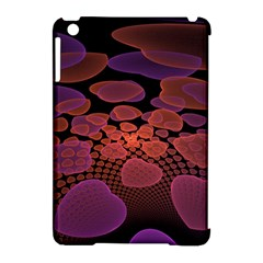 Heart Invasion Background Image With Many Hearts Apple Ipad Mini Hardshell Case (compatible With Smart Cover) by Simbadda