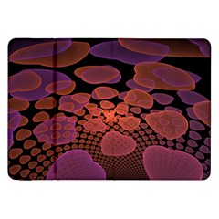 Heart Invasion Background Image With Many Hearts Samsung Galaxy Tab 8 9  P7300 Flip Case by Simbadda