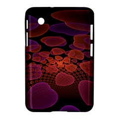 Heart Invasion Background Image With Many Hearts Samsung Galaxy Tab 2 (7 ) P3100 Hardshell Case  by Simbadda