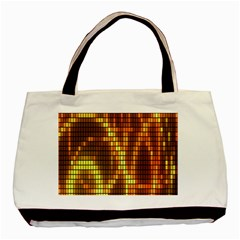 Circle Tiles A Digitally Created Abstract Background Basic Tote Bag (two Sides)