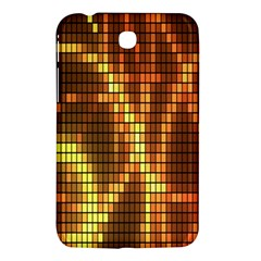 Circle Tiles A Digitally Created Abstract Background Samsung Galaxy Tab 3 (7 ) P3200 Hardshell Case  by Simbadda