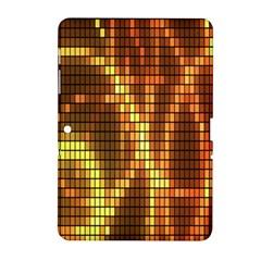 Circle Tiles A Digitally Created Abstract Background Samsung Galaxy Tab 2 (10 1 ) P5100 Hardshell Case  by Simbadda