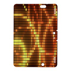 Circle Tiles A Digitally Created Abstract Background Kindle Fire Hdx 8 9  Hardshell Case by Simbadda