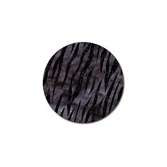 Skin3 Black Marble & Black Watercolor (r) Golf Ball Marker (10 Pack) by trendistuff