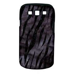 Skin3 Black Marble & Black Watercolor (r) Samsung Galaxy S Iii Classic Hardshell Case (pc+silicone) by trendistuff