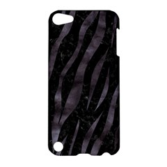 Skin3 Black Marble & Black Watercolor Apple Ipod Touch 5 Hardshell Case by trendistuff