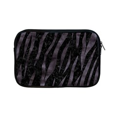 Skin3 Black Marble & Black Watercolor Apple Ipad Mini Zipper Case by trendistuff