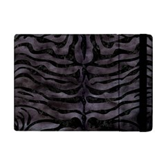 Skin2 Black Marble & Black Watercolor (r) Apple Ipad Mini 2 Flip Case by trendistuff