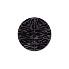 Skin2 Black Marble & Black Watercolor Golf Ball Marker by trendistuff