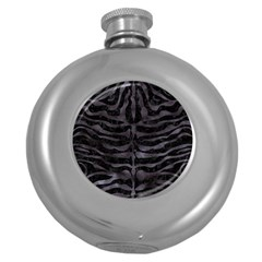 Skin2 Black Marble & Black Watercolor Hip Flask (5 Oz) by trendistuff