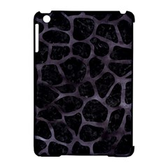 Skin1 Black Marble & Black Watercolor (r) Apple Ipad Mini Hardshell Case (compatible With Smart Cover) by trendistuff