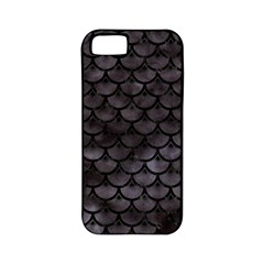 Sca3 Bk Mrbl Bk Wclr (r) Apple Iphone 5 Classic Hardshell Case (pc+silicone) by trendistuff