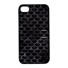 Sca3 Bk Mrbl Bk Wclr Apple Iphone 4/4s Hardshell Case With Stand by trendistuff