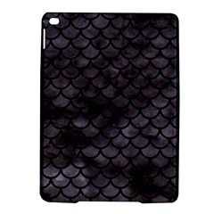 Scales1 Black Marble & Black Watercolor (r) Apple Ipad Air 2 Hardshell Case by trendistuff