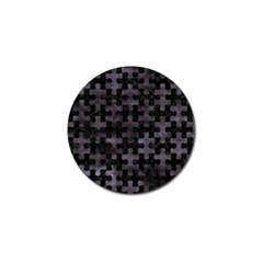 Puzzle1 Black Marble & Black Watercolor Golf Ball Marker (10 Pack) by trendistuff