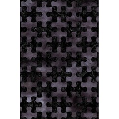 Puzzle1 Black Marble & Black Watercolor 5 5  X 8 5  Notebook by trendistuff