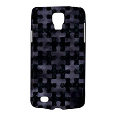Puzzle1 Black Marble & Black Watercolor Samsung Galaxy S4 Active (i9295) Hardshell Case by trendistuff