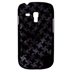 Houndstooth2 Black Marble & Black Watercolor Samsung Galaxy S3 Mini I8190 Hardshell Case by trendistuff