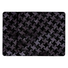 Houndstooth2 Black Marble & Black Watercolor Samsung Galaxy Tab 10 1  P7500 Flip Case by trendistuff