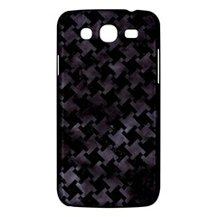 Houndstooth2 Black Marble & Black Watercolor Samsung Galaxy Mega 5 8 I9152 Hardshell Case  by trendistuff