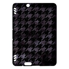 Houndstooth1 Black Marble & Black Watercolor Kindle Fire Hdx Hardshell Case by trendistuff