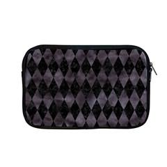Diamond1 Black Marble & Black Watercolor Apple Macbook Pro 13  Zipper Case by trendistuff