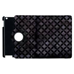 Circles3 Black Marble & Black Watercolor (r) Apple Ipad 2 Flip 360 Case by trendistuff