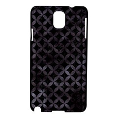 Circles3 Black Marble & Black Watercolor Samsung Galaxy Note 3 N9005 Hardshell Case by trendistuff