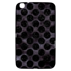 Circles2 Black Marble & Black Watercolor (r) Samsung Galaxy Tab 3 (8 ) T3100 Hardshell Case  by trendistuff
