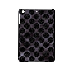 Circles2 Black Marble & Black Watercolor (r) Apple Ipad Mini 2 Hardshell Case by trendistuff